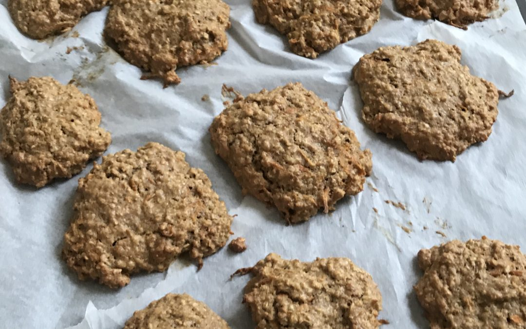 Carrot Oat & Spice Cookies